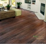 Chocolate Color Oak Parquet Floor / Oak Wood Flooring