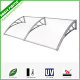Polycarbonate Material Sheet Balcony Awnings for Doors and Windows