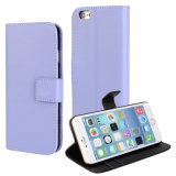 Hot Sell PU Leather Booklet Case for iPhone 6 Plus