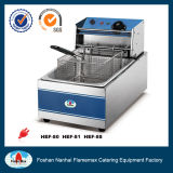 Hef-81 CE Approved 5.5liters Electric Table Top Fryer for Sale