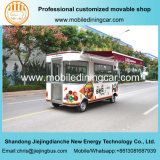 2017 Popular Hot Sales Mobile Food Cart with Good Quality Kitchen Equipments