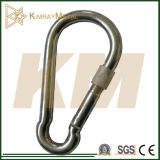 Zinc Plated Spring Snap Hook with Screw