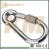 Zinc Plated Snap Hook with Eyelet and Screw