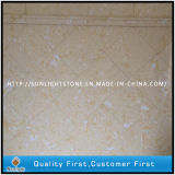 Yellow Engineered Artificial Stone Marble for Wall and Flooring