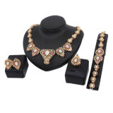 Fashion Gold Plating African Middle East Wedding Jewelry Set