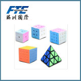 Full Logo Puzzle Cube Toy Layers Magic Cube for Kids
