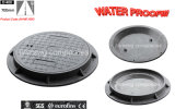 Jm-Mr106D En124 D400 Waterproof Sealing Manhole Cover with Inner Cap and Rubber Gasket Watertight Manhole Cover