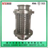25.4mm Stainless Steel Sanitary Hygienic Triclamp Sight Glass with Protection Sleeve