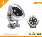 LED Underwater Light/Swimming Pool Light/Fountain Light (GP-UL-6W1)