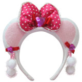 Fashion Pink Hair Band for Girls (HH-1)