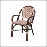 Wholesale Armrest French Style Rattan Bistro Chair (sp-oc426)