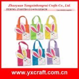 Easter Decoration (ZY16Y726-1-2-3-4-5-6) Easter Bunny Hand Bags Easter Ornament