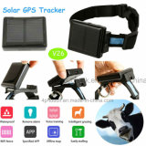 Mini Solar GPS Tracker for Pets with Waterproof IP67 (V26)
