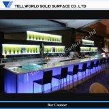 Beautiful and Tranlucent Cocktail Bar Counter, Customized Furniture (TW-MART-077)