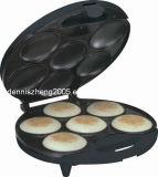 6-Portions Arepa Maker-Electric Non Stick Surface 6 Portion - Make Professional Arepas & Empanadas