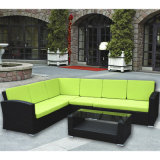 5PC Outdoor/Patio/Garde PE Wicker Corner Sofa Set-K/D (BF1557)