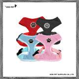 Paw Print Logo Pet Soft Mesh Harness Dog Harness (SPH7042)