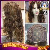 U Part Wig Curly Mono Top Brazilian Human Hair Wig