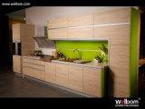 2015 Welbom Custom Mordern Wood Grain Kitchen Furniture