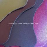 Hot Classical Grain Microfiber Combine Split Leather for Shoes