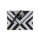 Fashion PU Shoulder Bag Cool Zebra Print Clutch Bag Wzx1137