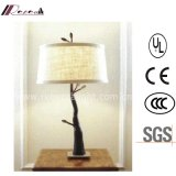 Hotel Room Decorative Resin Bedside Reading Table Lamp