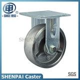 "6"" Cast Iron Locking Industrial Caster Wheel"