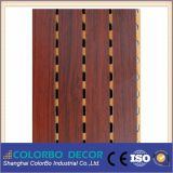 Anti-Fire MDF Grooved Wood Acoustic Wall Board
