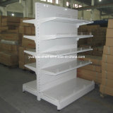 High Quality Steel Plain Back Panel Supermarket Shelf Display Shelves