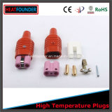 Silicone Plug Insert with High Temperature Ceramic Head