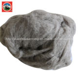 Beige Combing/ Carded Yak Wool/Cashere/Camel Wool Fabric/Textile/Wasted Raw Material