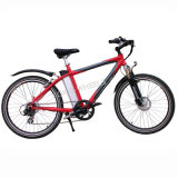 "26"" Disk Brake E-Bike with Shimano 6-Speed (TDE-037N)"