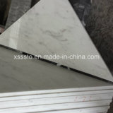 White Volakas Marble Tiles for Wall and Flooring