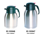 Double Wall Vacuum Coffee Pot Europe Style Svp-1500at