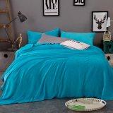 Promotion Warm Full Plush Ocean Blue Flannel Fleece Blankets