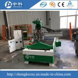 Four Heads Pneumatic Changing Cutters Wood CNC Router Machine