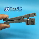 FTTH Ideal 45-162 Horizontal Fiber Optic Cable Sheath Jacket Cutter Loose Tube Stripper