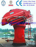 Knuckle Boom Crane with Separate Hydraulic Station for Tug Boat