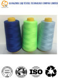100% Polyester Fluorescence Embroidery Thread Flower Embroidery Use