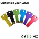 Free Logo Novelty Key Shaped USB Thumb Drive U Disk