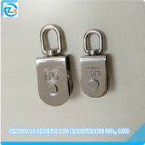 Stainless Steel Square Swivel Eye Block with Single Sheave