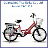 Lady E-Bike for Delivery Food Cargo Bike