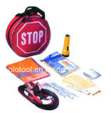 9PC Road Emergency Tool Kit with Flashlight