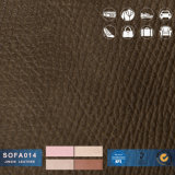 China Wholesale Dark PU/PVC Leather for Chair/ Office Sofa/Furniture