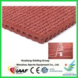 Prefabricated Rubber Athletic Running Tracks for Outdoor Playground and Field