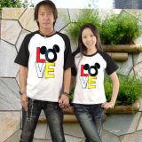 Fashion Design Cotton Family Couple T Shirts