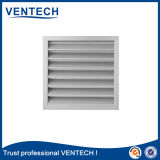 White Color Rainproof Air Louver for Ventilation Use