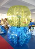 PVC TPU Pop Human Amusement Park Inflatable Football Bumper Bubble Ball