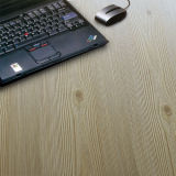 Household 12.3mm E0 Embossed Hickory Sound Absorbing Laminate Floor