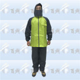 100% Waterproof Polyester Unisex Rainsuit